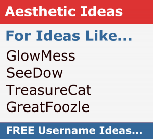 Hack Aesthetic Username Ideas for Roblox, Tumblr, Instagram