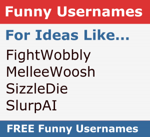 Funny Username Generator