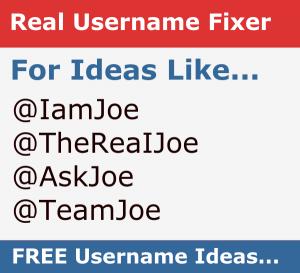 Real Username Fixer