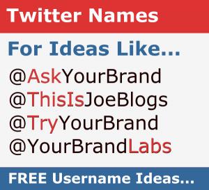 Twitter Name Generator